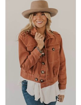 Free People Eisenhower Slouchy Denim Jacket by Roolee