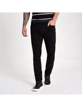 Sid   Stay Black   Slim Fit Jeans by River Island