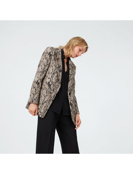 Tamika Print Coat by Club Monaco