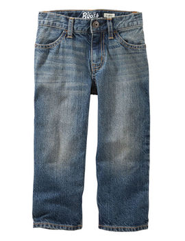 Classic Jeans   Tumbled Medium Faded Wash by Carter's