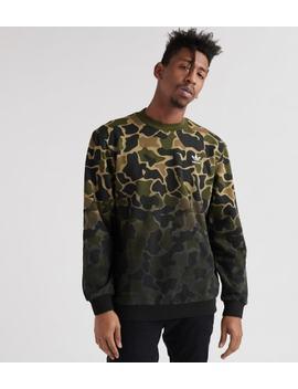 Camo Crew Sweatshirt by Adidas