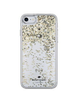 Kate Spade New York Liquid Glitter Fitted Hard Shell Case For I Phone 7/8   Clear by Kate Spade