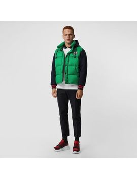 Neoprene Down Filled Hooded Jacket by Burberry