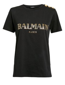 Logo T Shirt by Balmain