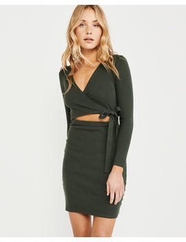 Cutout Bodycon Dress by Abercrombie & Fitch