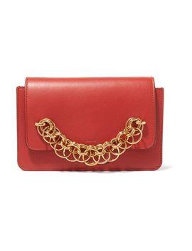Women's Drew Bijou Textured Leather Clutch by Chloé