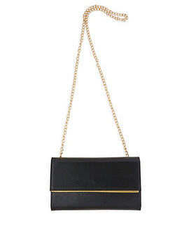 Faux Leather Crossbody Bag by Rainbow