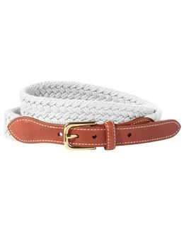 Boothbay Braided Belt by L.L.Bean