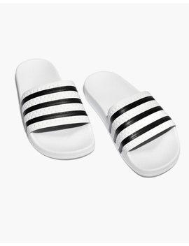 Adidas® Unisex Adilette® Slides by Madewell