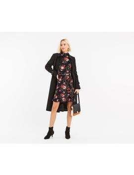 Rose Sheered Tie Dress by Oasis