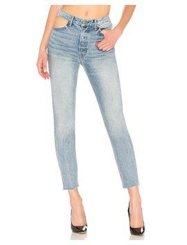 Women's Karolina High Rise Skinny Jean In Blue by Grlfrnd