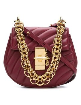 Women's Red Mini Drew Bijou Bag by Chloé