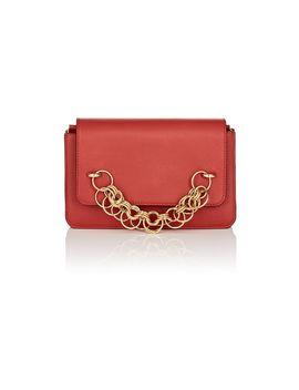 Drew Bijoux Leather Clutch by Chloé