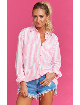 Kelly Shirt ~ Skipper Stripe by Show Me Your Mu Mu