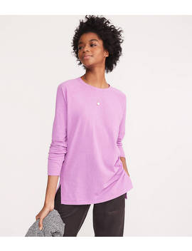 Lou &Amp; Grey Softserve Slub Tunic Tee by Loft