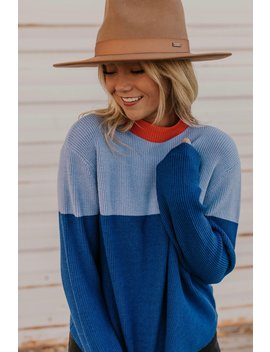Bassett Colorblock Sweater by Roolee