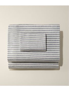 Ultrasoft Comfort Flannel Sheet Set, Stripe by L.L.Bean