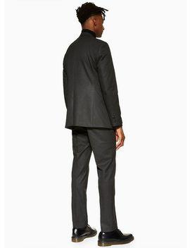 Charcoal Slim Suit by Topman