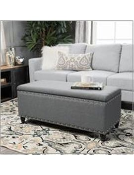 Tarrin Gray Storage Ottoman by Pier1 Imports