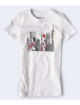Floral City Graphic Tee by Aeropostale