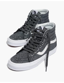 Vans® Unisex Sk8 Hi Reissue High Top Sneakers In Black Glitter by Madewell