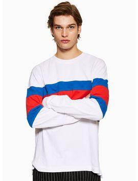 White Skater T Shirt by Topman