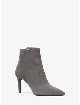 Dorothy Suede Ankle Boot by Michael Michael Kors