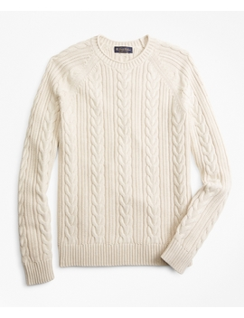 Fisherman Rollneck Sweater by Brooks Brothers