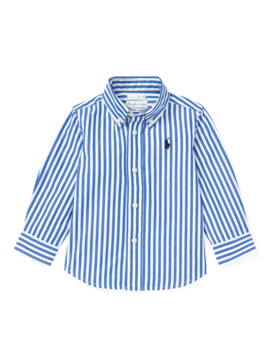 Bengal Stripe Cotton Shirt by Ralph Lauren