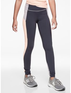 Athleta Girl Colorblock Stash Pocket Tight by Athleta