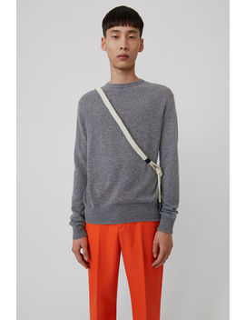 Ultralight Sweater Grey Melange by Acne Studios