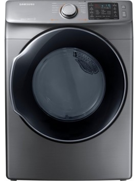 7.5 Cu. Ft. 10 Cycle Gas Dryer With Steam   Platinum by Samsung
