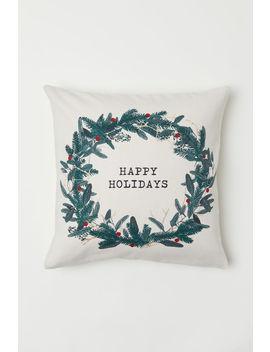 Kissen Mit Weihnachtsmotiv by H&M