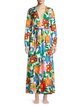 Luna Floral Maxi Dress by Mara Hoffman