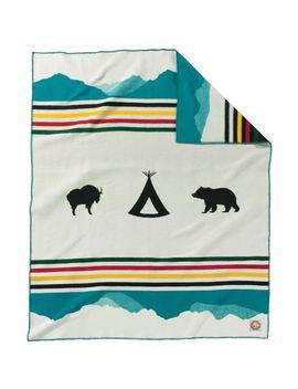 Glacier Park Anniversary Blanket by Pendleton