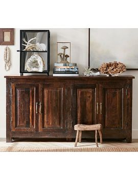 Bowry Reclaimed Wood Media Console by Pottery Barn