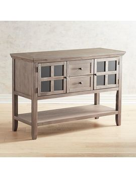 Shadow Gray Buffet Table by Ronan Collection