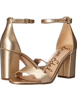 Odila Ankle Strap Sandal Heel by Sam Edelman
