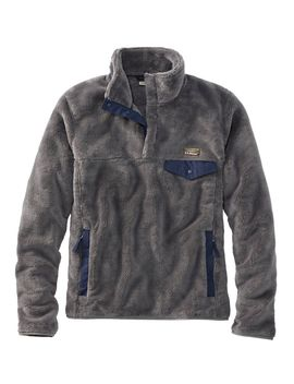 Men's L.L.Bean Hi Pile Fleece Pullover by L.L.Bean