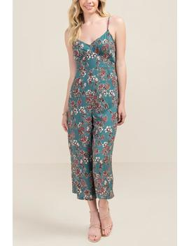 Marni Floral Cropped Jumpsuit by Francesca's