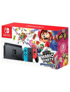 Nintendo Switch Super Mario Party Bundle by Nintendo