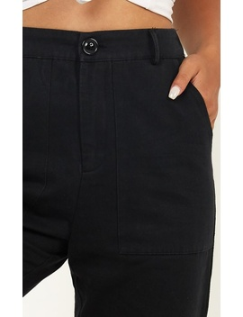 New Challenger Pants In Black by Showpo Fashion