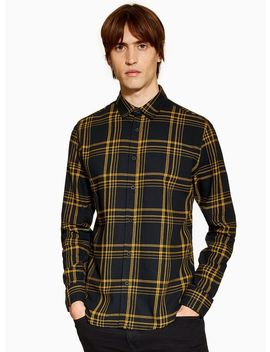 Only &Amp; Sons Khaki Check Shirt by Topman