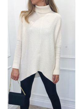 Callie Knit Jumper   Cream by Pretty Lavish