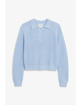 Chunky Ribbed Top by Monki
