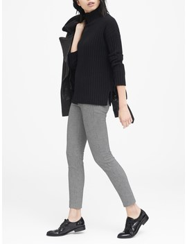 Devon Legging Fit Houndstooth Pant by Banana Repbulic