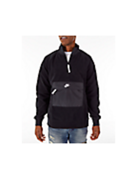 Men's Nike Sportswear Season Half Zip Jacket by Nike
