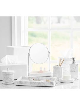 Monique Lhuillier Marble Tissue Box by Pottery Barn