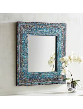 "Midnight 24"" Square Mirror by Pier1 Imports"