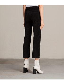Heidi Cropped Velvet Jeans by Allsaints